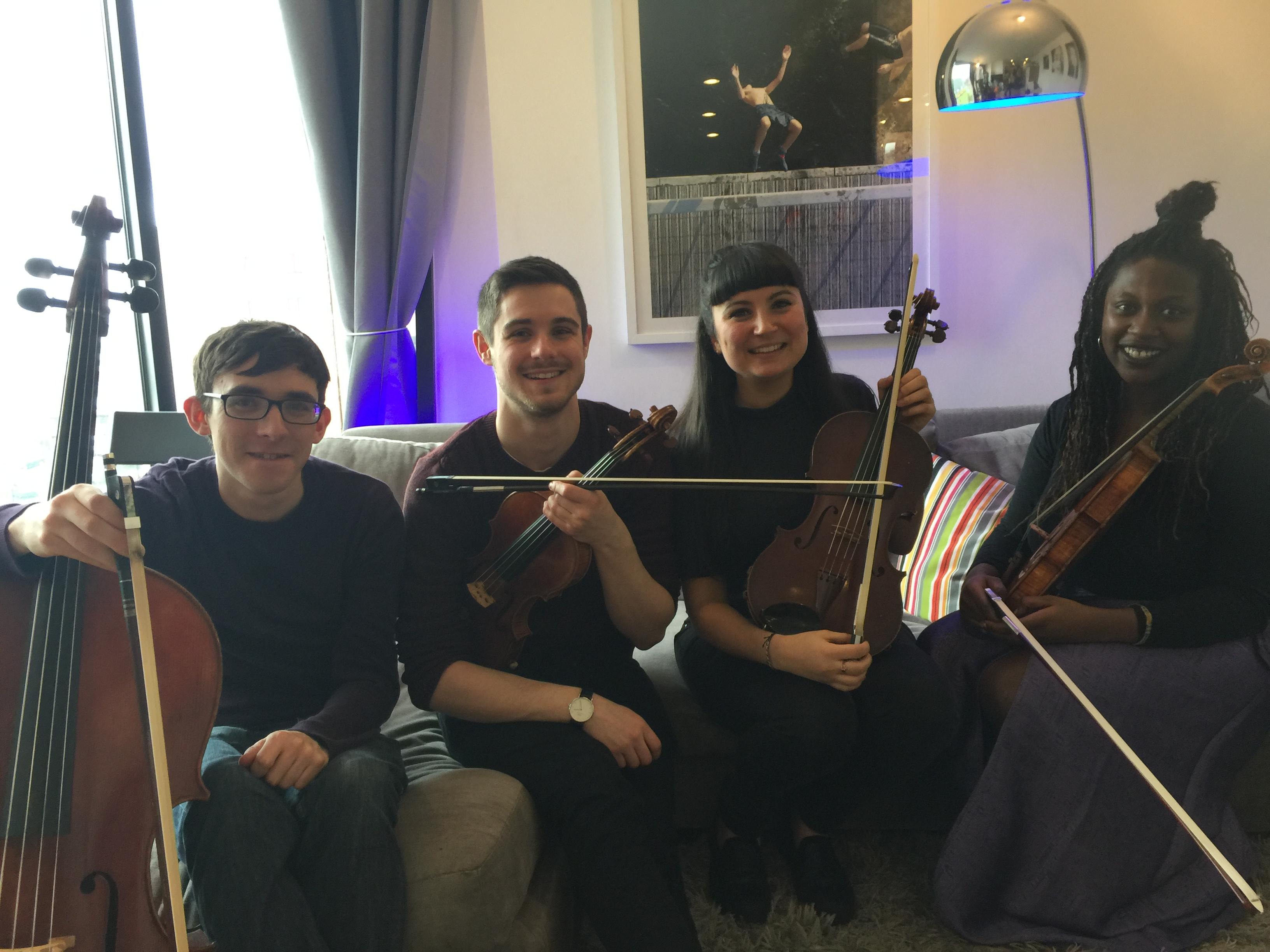 Echo Chamber Quartet